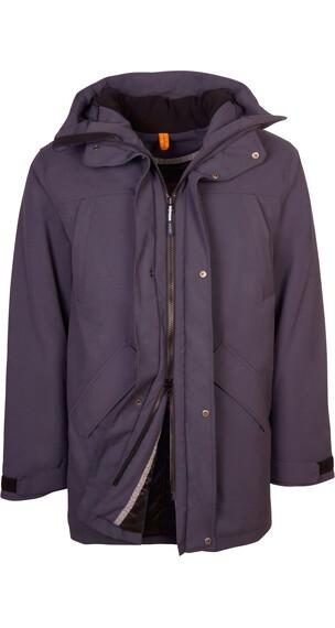 Elkline All In One Winter Jacket Men bluegrey